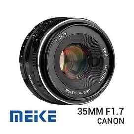 New / Baru Lensa Meike 35mm f1.7 for EOS M