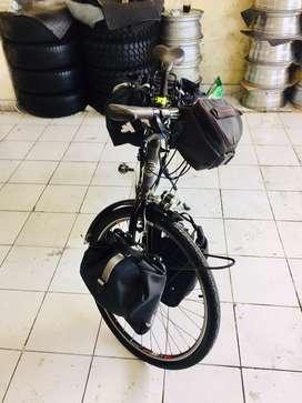 Sepeda toring merk trek asli kondisi seperti baru