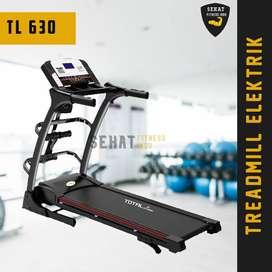 Alat Olahraga Treadmill Elektrik Multifungsi Auto Incline Bisa COD