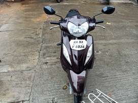 Tvs scooty wego 2011 broon colour Excellent condition