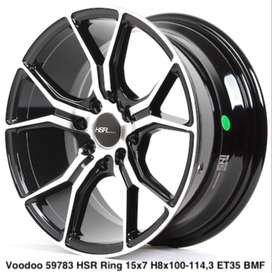 new VOODOO HSR R15X7 H8X100-114,3 ET35 BMF