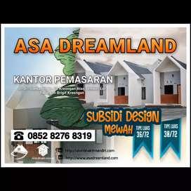 Perumahan subsidi asa dreamland type 36/72