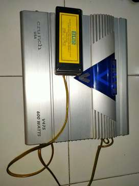 Amplifier Mobil 600watt V Drive USA