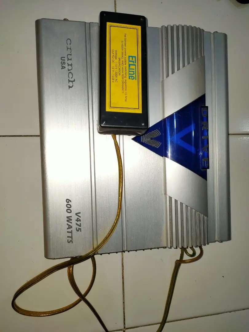 Amplifier Mobil 600watt V Drive USA