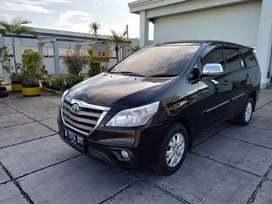 Toyota kijang Innova G 2.0 2014 Hitam ( Tdp 26 juta) bebas BANJIR