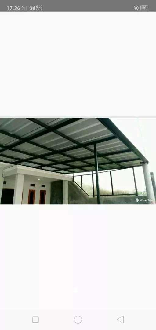 kanopi atap spandek,brkualitas aman 0