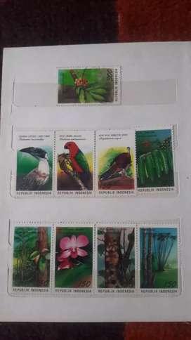 Dijual koleksi perangko bekas