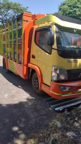 Jual truk canter HDV 125 PS 220 jt nego