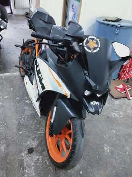 Ktm rc 390 jisi laine ho wahi call kare no msg no ka photo dal rak h