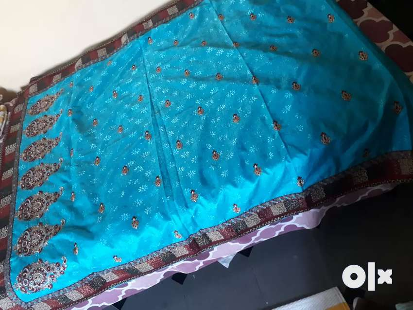 Party wear saree with blouse 0