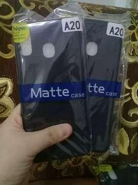 Matte Black Case Best seller Samsung A20