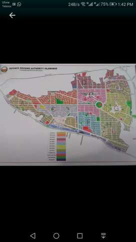 10 marla plot in DHA phase 2 j sector is for sale