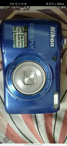 Canon L26 coolpix camera urgent sell very low price