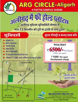 Plots for Sale in ARG Circle, on Baroli Rd, Aligarh