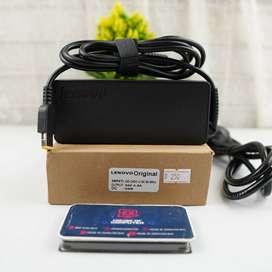 adaptor lenovo original 20v-4.5a tipe usb laptop