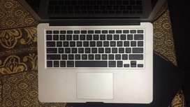 Apple macbook air battery track pad with topcase