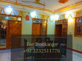 Furnished Portion for weddings Guest 12k per day