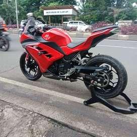Ninja fi 250 merah merona