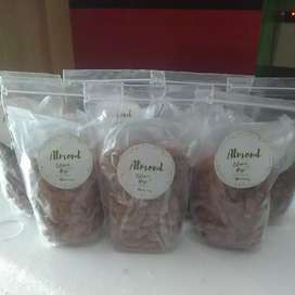 Kacang Almond Panggang Kupas [250 gr]