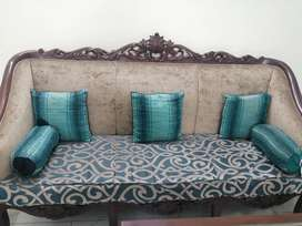 Five Seater Chinioti Sofa Set for sale