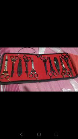For sale  High class Scissors in use of salon This metetrial high clas