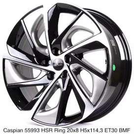 VELG MOBIL CASPIAN 55993 HSR R20X8 H5X114,3 ET30 BMF