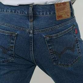 Celana Jeans Edwin Ori Vegas 08 Reguler Fit Pria Panjang Blue