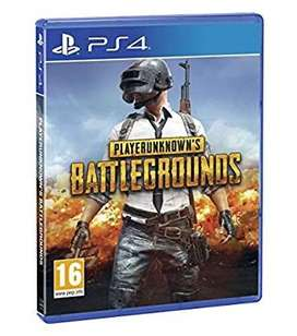 PUBG PS4 Game