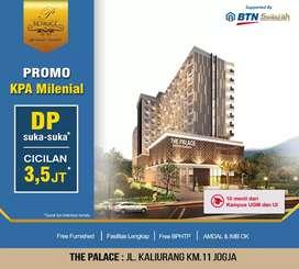DP 0% Utk Jambi,Miliki Apartemen diKawasan Kampus&Wisata,The Palace