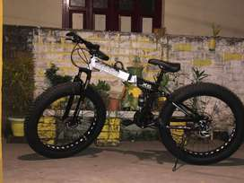 BMW X6 Fat Boy Folding Cycle 21 Shimano Gears