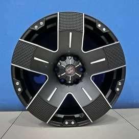 Velg Mobil Fortuner TRD Ring 17 model EMR 901 HSR Wheels