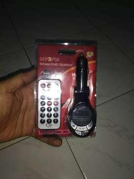 Audio mobil/MP3/modulator FM.