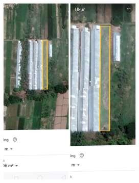 Tanah area Peternakan 1900m2 diKlaten 375t