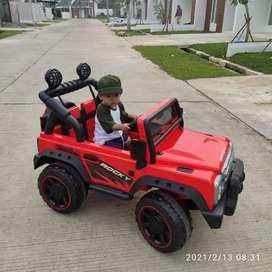 Mobil aki rocky anak mainan mobilan remote