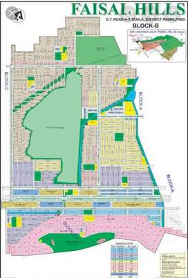25*50 plot for sale in Faisal Hills B block