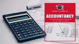 Accountancy tutorial (All board's) Online classes.