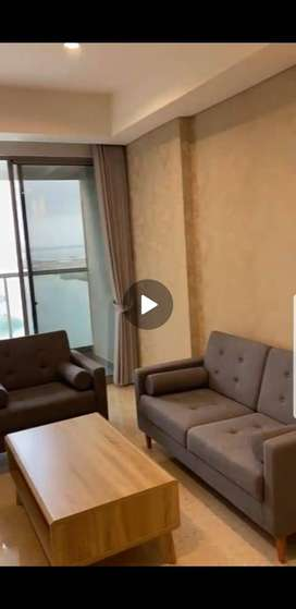 Dijual/Disewakan Apartemen Gold Coast PIK 3kamar Sea View Full Furnish