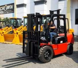Forklift di Kaur Murah 3-10 ton Mesin Isuzu Mitsubishi Powerful