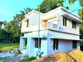 Near Paravoor new 3bedroom house with bank loan