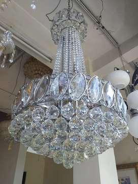 Jual lampu crystal chrome