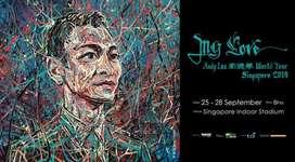 Tiket konser andy lau, 26 sept, singapore