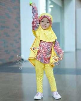 baju muslim anak motif batik size 1-6 tahun - open reseller