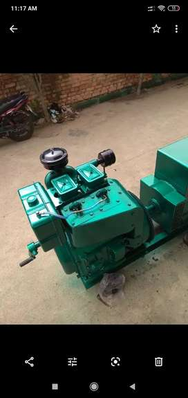15 kVa Generator Set. Reconditioned. Just like new. Copper winding