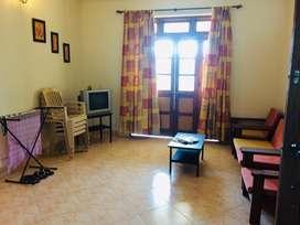 Available 2bhk furnished flat for rent un nagoa porvorim.