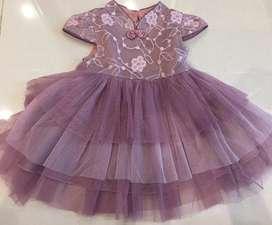 Dress Anak Model Cheongsam Lucu dan Elegan Usia 0-2th