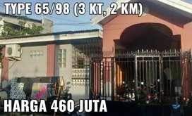 RUMAH DI MAKASSAR, 3 KAMAR JLN HERTASNING MINASA UPA