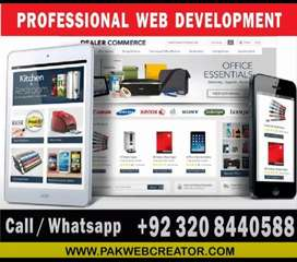 Professional E-COMMERCE Website design and development for Business