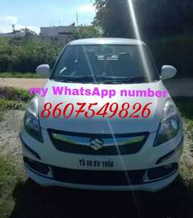 White colour swift dzire good condition