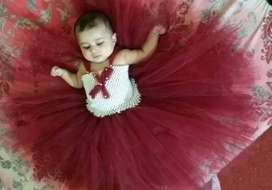 Hand made tutu dress for birthday party for your princes