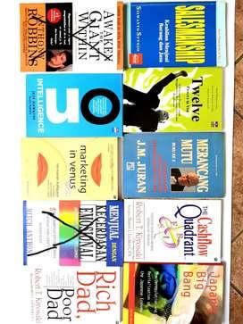 Buku bekas dijual cepat dan sangat murah